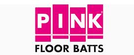 Pink Floor Batts